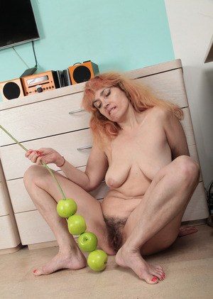 Hairy Pussy With Dildo